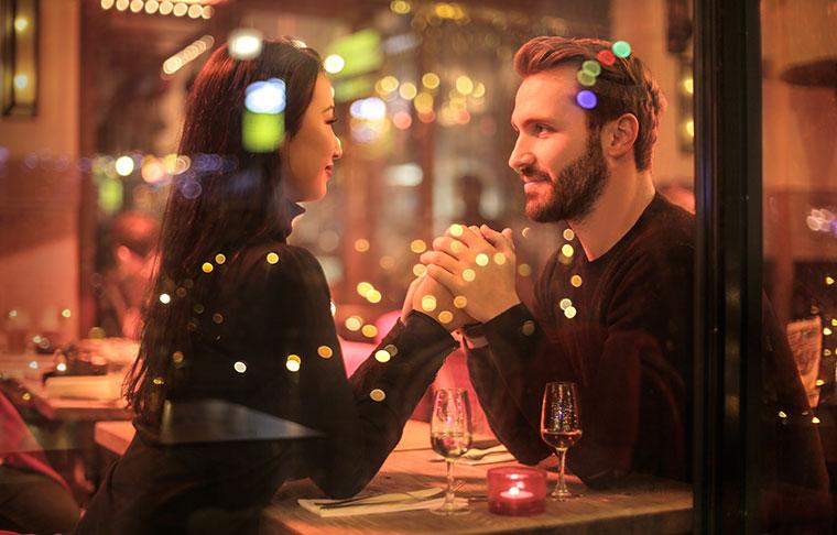 Ein romantisches Essen zu Zweit im Restaurant Irodion in Straubing